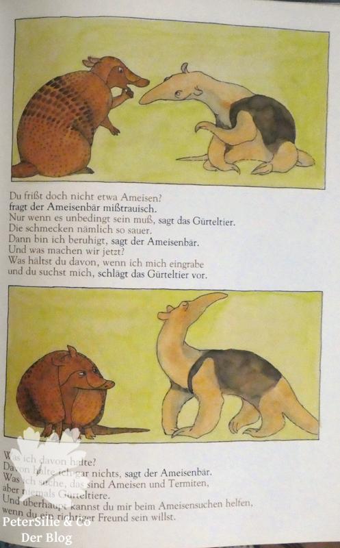 Das entsetzlich dicke Gürteltier Christine Rettl CHristina Oppermann-Dimow Jungbrunnen Verlag