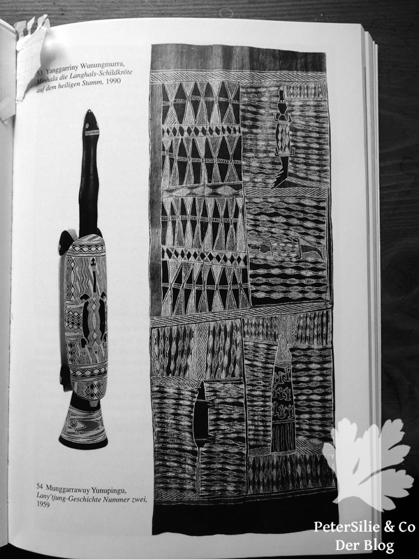 Lany`tjung-Geschichte Nummer Zwei Die Kunst der Aborigine
